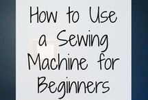 Sewing... by machine / Most of these ideas are geared toward using a sewing machine.