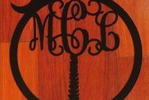 Monogram it!!! / by Lorie
