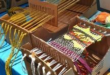 weaving/beading / by Linda Devine