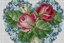 cross stitch / by Linda Devine