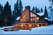 The Waterfront Haven / A brand-new album of a recently built home by Riverbend Timber Framing in Alberta, Canada