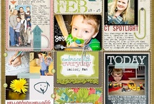 Capturing the Everyday / Project Life and Smash book page inspiration, photography ideas, printables, etc.