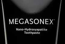 Toothpaste / Imagine repairing your teeth every time you brush them, getting them their whitest by helping, not hindering, natural processes. Imagine brushing your teeth with a professional-grade formula lacking harsh chemicals others take for granted.   Introducing the revolutionary MEGASONEX® toothpaste… the world's first nano-hydroxyapatite toothpaste designed specifically for electric and ultrasonic toothbrushes (though it still works just fine for manual toothbrush users as well).