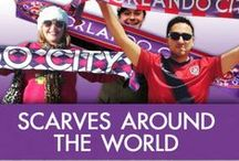 Scarves Around The World  / Orlando fans showing their pride around the world!