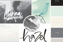 ::Color Palettes, Mood Boards + Style Guides:: / Collection of pretty color palettes, mood boards + style guides for blog design inspiration #colorpalette #color #palettes #blogdesign #moodboard #styleguides