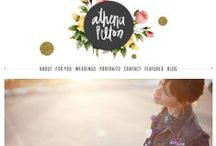 ::Lovely Blog Design Inspiration:: / A collection of cute, beautiful and lovely blog designs To serve inspiration to the women bloggers and small business owners who follow me. #blogdesign #webdesign