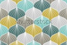 Patterns: Ogee / Part of DYOB's design pattern library - pattern trend: ogee (an onion-shaped motif) for blogs, web, fashion, graphic, interior etc.