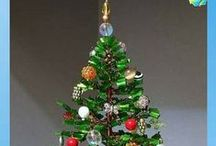 Christmas Trees... Jeweled & Beaded / Keepsake trees. / by Susie Brooks