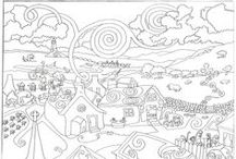 coloring pages / by Susan Lawson