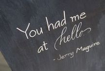 •⊰You had me at Hello ಠ_ಠ / Famous movie quotes, lines or sayings. / by ᏒᎾbᎥᏁ ᎳᎪᏒᏁᎬᏒ