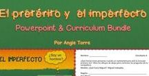 Spanish Three Resources / Everything you need to teach Spanish Three.  Resources include: TPR Stories, Grammar PowerPoints, Interactive Notebook Activities, Google Drive Activities, Videos, Vocabulary PowerPoints, Games, Activities, Paired Activities, Videos with Spanish Subtitles.