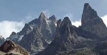 Mt Kenya / Kenya straddles the Equator with geography ranging from snow capped Mt. Kenya, the second highest mountain in Africa, to lush tropical rainforest and golden sands at sea level. Kenya is a land of contrasts and extremes: a country with an extraordinary variety of landscapes and locations, all of them striking in their own particular way.
