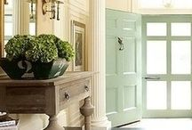 Home Decor: Entry / Welcome! Entry, Foyers, and more. Exquisite rooms. / by Debra Conway
