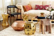 Metallics & Metals / On-trend metal inspiration, furniture, and accents from MIX.