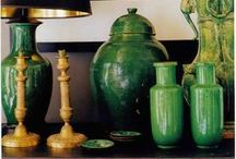 Gorgeous Greens / At MIX we love to get inspired by a particular color. We have a dazzling spectrum of greens in furniture, garden pieces, and home accessories.