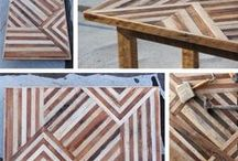 Reclaimed Wood / Reclaimed wood from around the world is made into tables, chairs, beds, art, mirrors and more here at MIX!