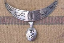 Hopi Overlay Jewelry / Hopi made Overlay Jewelry that we sell on our website