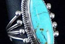 Turquoise Ladies Rings / We offer a variety of Turquoise Ladies RIngs!