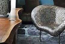 Organic Modern Wood / A collection of inspiring ways organic, modern, wood can be used in interior and exterior design.