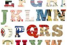 creative lettering / Tantissime idee per i titoli e le scritte nei nostri smashbook