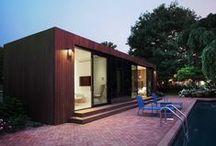 COCOON9 Cabin - Southampton Pool House / Plug n Play Modular Homes