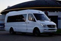 Mercedes-Benz Sprinter / Представляем Вам суперкомфортабельный и вместительный микроавтобус представительского уровня Mercedes-Benz Sprinter на 20 пассажирских мест. Салон полностью обшит натуральной кожей бежевого цвета со вставками из замши. Все сидения имеют анатомическую форму, оснащены трехточечными инерционными ремнями безопасности и складываемыми подлокотниками. Он прекрасно подойдет для встречи больших делегаций, а за счет белого цвета отлично будет смотреться на торжественных или свадебных мероприятиях.