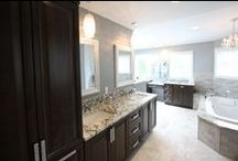 Bathroom Renovation / Tremendous Finished Bathroom performed by OZ General Contracting Co Inc.