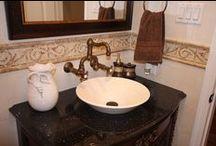 Bathroom Renovation - Traditional / A Bathroom Renovation with a Traditional Décor.