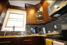 Modern Kitchen Renovation / Kitchen renovation in Modern Décor for one of our Clients.
