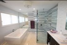 Beautiful Modern Bathroom / An incredible Master bathroom with a modern feel.