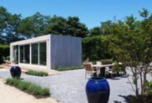 Cocoon9 Studio - Mecox Gardens / Show house installed at Mecox Southampton, Summer 2015