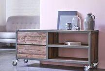 Style urbain / Modulables, faciles à vivre, colorés, les meubles de la collection Atelier de Karpenter