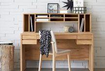 Un bureau à la maison / Travaillez inspiré !