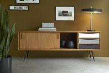 Meubles TV du salon / Des inspirations pour créer un intérieur chaleureux et singulier.