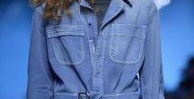 MODE BLUE / Mode bleu, bleu jeans, bleu acier, bleu roi, bleu ciel...  Déjà triomphal dans les défilés de mode de la saison dernière, le bleu dans toutes ses tonalités sera présent dans nos dressing  Du bleu marine, au bleu ciel, bleu layette, en passant par les nuances de bleu jeans ou bleu Klein, bijoux, accessoires et sacs pour ajouter LA note de bleu à votre look !