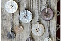 Button Jewelry / Looking to create some jewelry with buttons? Here are some great ideas and you can look on our website for detailed instructions on how to create your own button jewelry / by Blumenthal Lansing Co.
