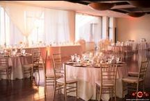 Wedding Reception Set Up / Here are different set up options of our Banquet Room that we have had in the past.