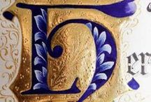 Beautifull Calligraphy  / Modern and old Calligraphy examples, Illuminatition and gilding