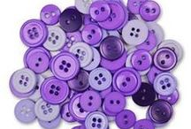 Magenta Buttons / Buttons and inspiration featuring Radiant Orchid the Pantone color of the year for 2014