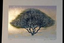 PRINTMAKING / Inspiring images for developing my print making concept..