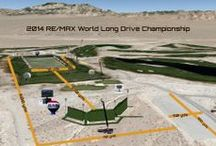 2014 RE/MAX World Long Drive Championship Media Day / As this year's host facility for the RE/MAX World Long Drive Finals in November, VIP & Media got their first glimpse of the Las Vegas Paiute Golf Resort and the new tee area and grid.