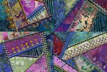 F-Crazy Quilts/art quilts / by Dawn D