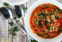 ***Soup, Stew, and Chili Recipes*** / Hearty and comforting soups, stews, and chillies to warm you up when the weather is cold