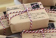 Gifts & Wraps / Giftwrapping inspiration and ideas