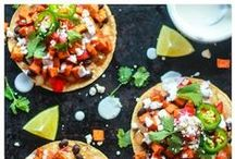 ***Southwest Flavor Recipes*** / From nachos to tacos to salads and soups and everything in between. Mouth-watering Mexican and Southwest-inspired dishes infused with bold spices and sprinkled with a healthy handful of cilantro!