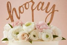 Wedding Cakes & Sweets / Wedding cakes and sweets that we love, from around the world...