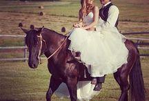 Country Wedding Ideas / by Mackenzie Scheff