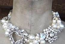 Wedding jewelry / Beautiful jewelry for the bride and wedding party.   Some easily made, some for inspiration.