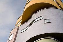 architecture / Building - villes - bâtiments - design architectural - matériaux - architectes -  / by ☪ Forget Me Not Studio ☪