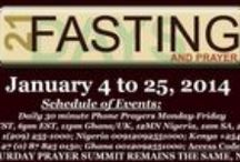 21 Day Fasting and Prayers